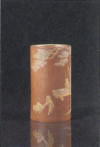 中国古玩竹雕艺术之尚勋作品